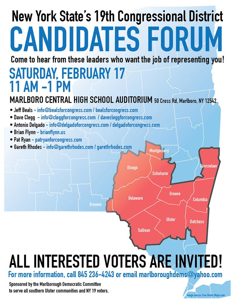 NY19 Candidates Forum